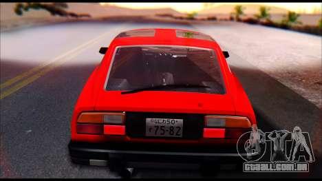 Nissan S130 para GTA San Andreas vista direita