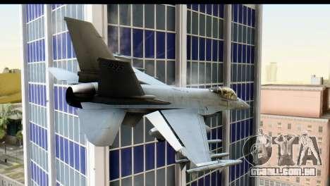 P-996 Lazer v1 para GTA San Andreas esquerda vista