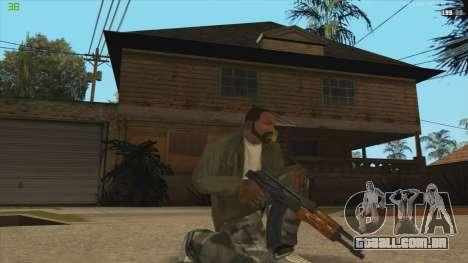 AK47 из Killing Floor para GTA San Andreas segunda tela