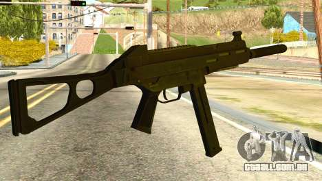 UMP45 from Global Ops: Commando Libya para GTA San Andreas segunda tela