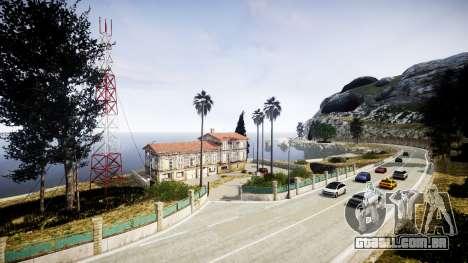 Mapa da Riviera francesa v1.2 para GTA 4 por diante tela