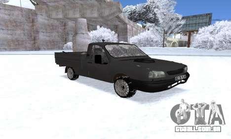 Dacia 1305 Papuc Pick-Up Drop Side 1.9D para GTA San Andreas