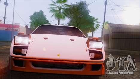 SA_nVidia: Capturas De Tela, Edição De para GTA San Andreas