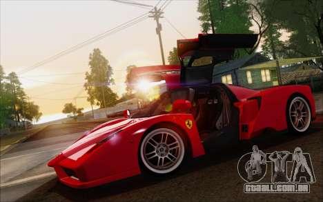 SA_nVidia: Capturas De Tela, Edição De para GTA San Andreas oitavo tela