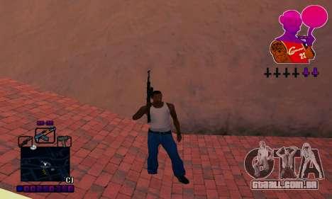 C-HUD Basketball para GTA San Andreas por diante tela