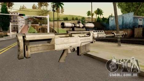 Accuracy International AS50 .50 BMG para GTA San Andreas segunda tela