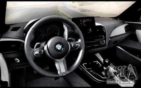 BMW M235i F22 2015 para GTA San Andreas vista direita
