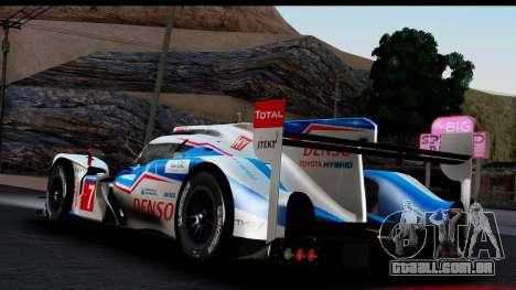Toyota TS040 Hybrid 2014 para GTA San Andreas