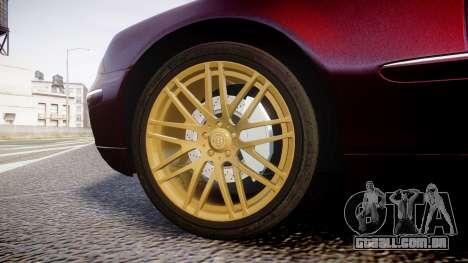 Mercedes-Benz S600 W220 para GTA 4 vista de volta