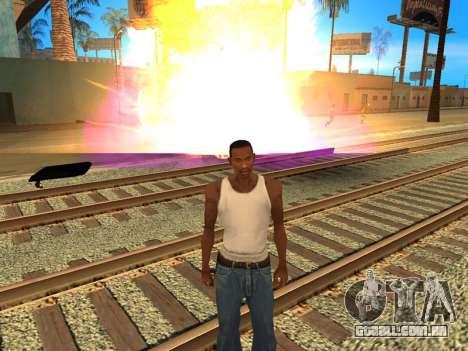 Fagot Funny Effects 1.1 para GTA San Andreas por diante tela