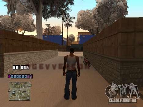 C-HUD Coração para GTA San Andreas segunda tela