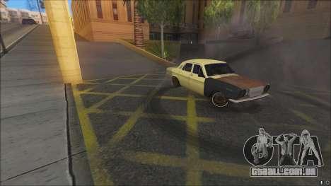 ГАЗ 2410 DERIVA SPL IP para GTA San Andreas traseira esquerda vista