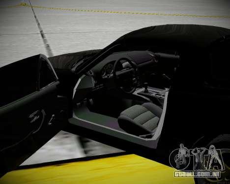 Mazda MX-5 JDM para GTA San Andreas vista interior