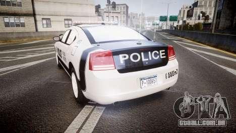 Dodge Charger 2006 Sheriff Dukes [ELS] para GTA 4 traseira esquerda vista