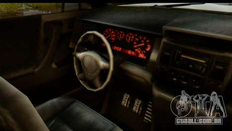 GTA 5 Vapid Sandking XL IVF para GTA San Andreas vista interior