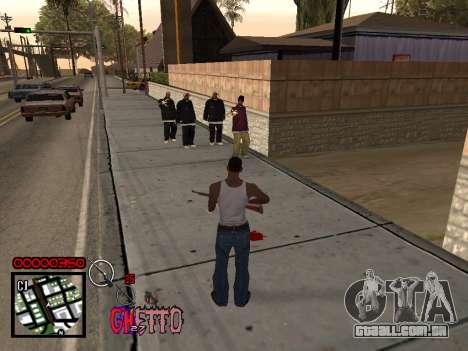 C-HUD by Jones para GTA San Andreas segunda tela