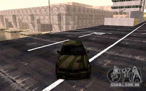 BMW M3 E36 Hunter para GTA San Andreas traseira esquerda vista