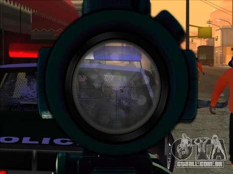 Sniper Skope Mod FIX para GTA San Andreas segunda tela
