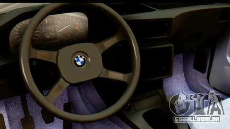 BMW M5 E28 Edit para GTA San Andreas vista direita