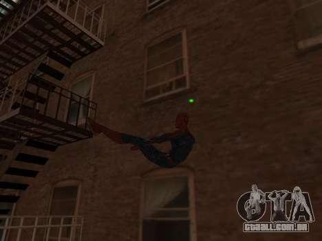 Spiderman Swinging v2.1 para GTA San Andreas terceira tela