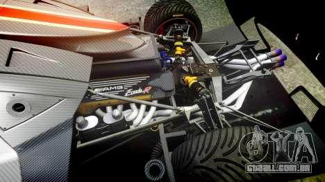 Pagani Zonda Revolution 2013 para GTA 4 vista interior