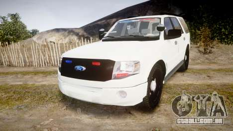 Ford Expedition West Virginia State Police [ELS] para GTA 4