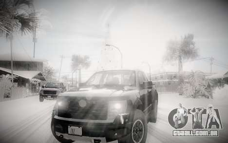 Inverno 2.0 ENBSeries para GTA San Andreas segunda tela
