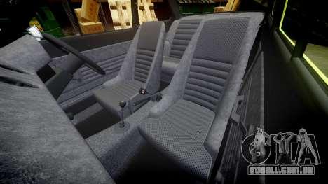Ford Escort RS1600 PJ40 para GTA 4 vista lateral