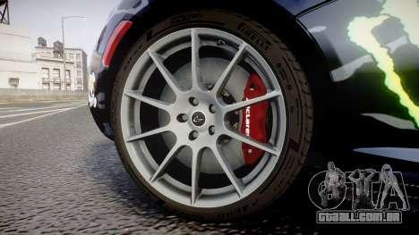 McLaren P1 2014 [EPM] Ken Block para GTA 4 vista de volta