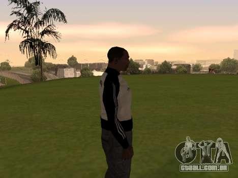 Adidas Honduras Track Jacket para GTA San Andreas terceira tela