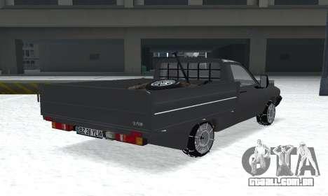 Dacia 1305 Papuc Pick-Up Drop Side 1.9D para GTA San Andreas esquerda vista