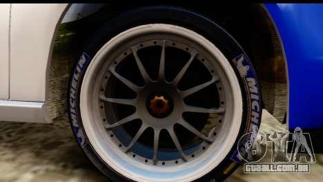 Ford Focus para GTA San Andreas vista traseira