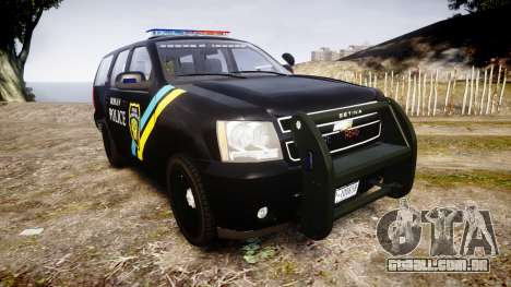 Chevrolet Tahoe 2010 Sheriff Bohan [ELS] para GTA 4