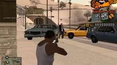 C-HUD King para GTA San Andreas