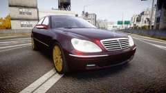 Mercedes-Benz S600 W220 para GTA 4