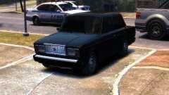 VAZ 2107 R13 para GTA 4