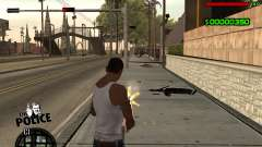 C-HUD by Jim para GTA San Andreas