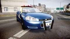 Chevrolet Impala West Virginia State Police ELS para GTA 4