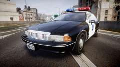 Chevrolet Caprice 1990 LCPD [ELS] Patrol