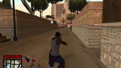 C-HUD by Jones para GTA San Andreas