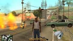 C-HUD для Exército para GTA San Andreas