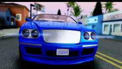 GTA 5 Enus Cognoscenti Cabrio para GTA San Andreas
