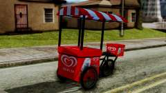 Selecta Ice Cream Bike para GTA San Andreas