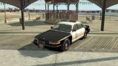 GTA V Vapid Stanier Police Cruiser