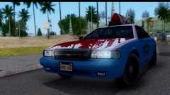 Taxi Vapid Stanier II from GTA 4 para GTA San Andreas
