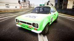 Ford Escort RS1600 PJ40 para GTA 4