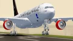 Airbus A330-300 SAS Star Alliance Livery para GTA San Andreas