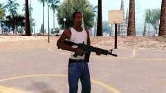 M4A1 (Dodgers) para GTA San Andreas