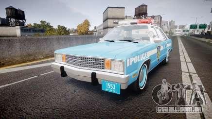 Ford Fairmont 1978 Police v1.1 para GTA 4