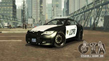 GTA V Ubermacht Sentinel Police [ELS] para GTA 4